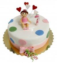 №2246 Детский торт на 1 годик