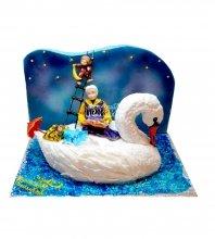 №2255 3D Торт для бабушки