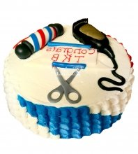 №2292 Торт парикмахеру