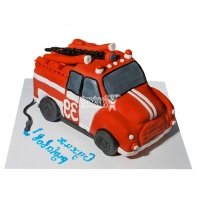 №2298 3D Торт пожарному