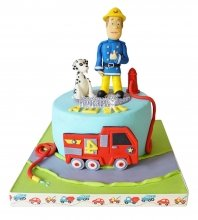 №2300 Торт пожарному