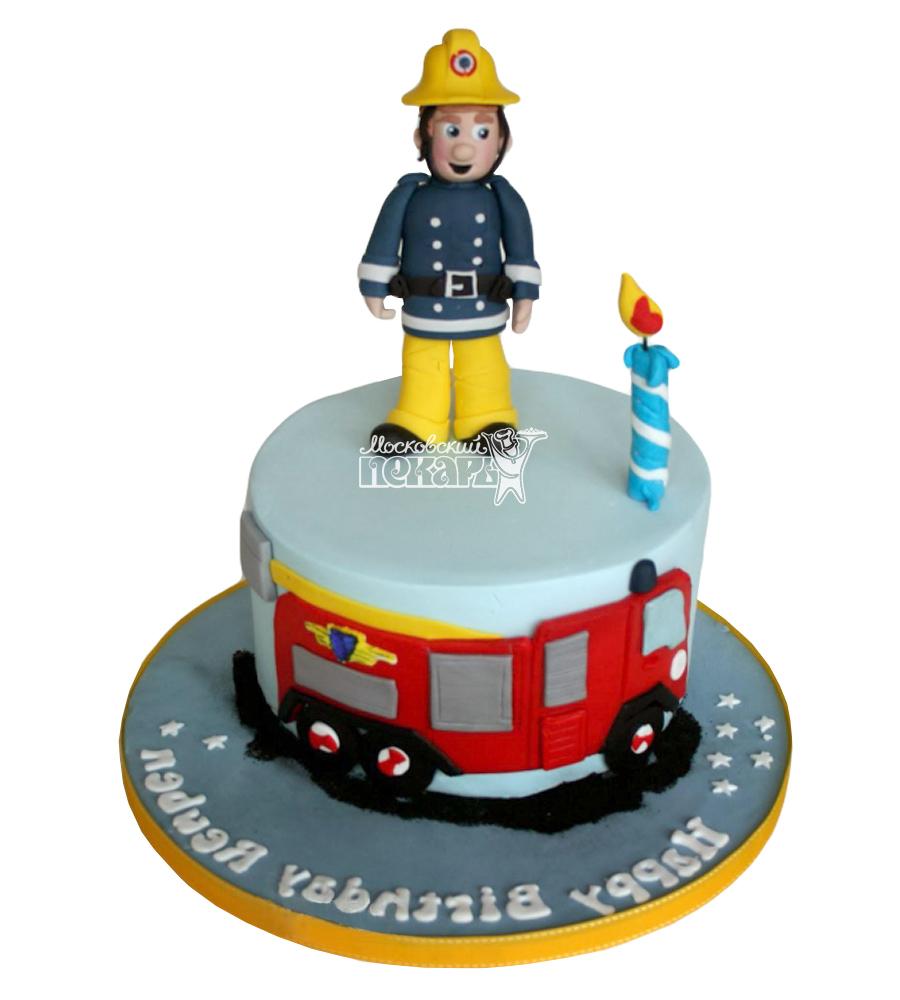 №2301 Торт пожарному
