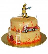 №2302 Торт пожарному