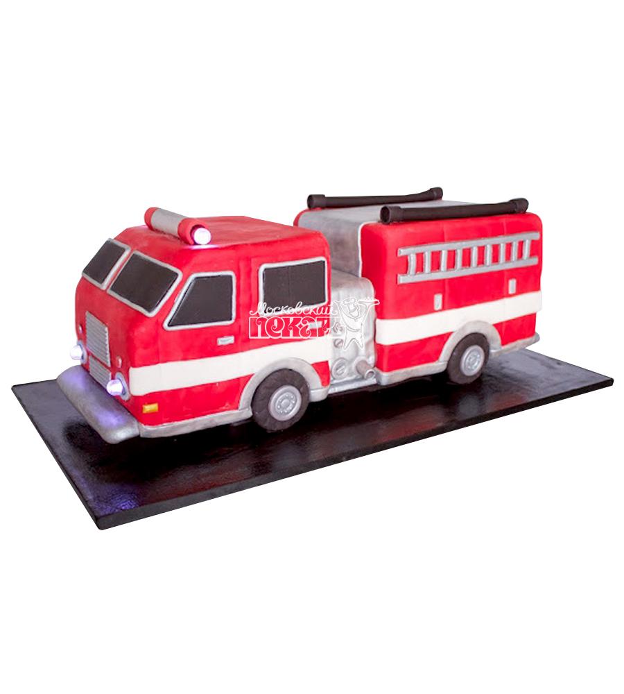 №2303 3D Торт пожарному