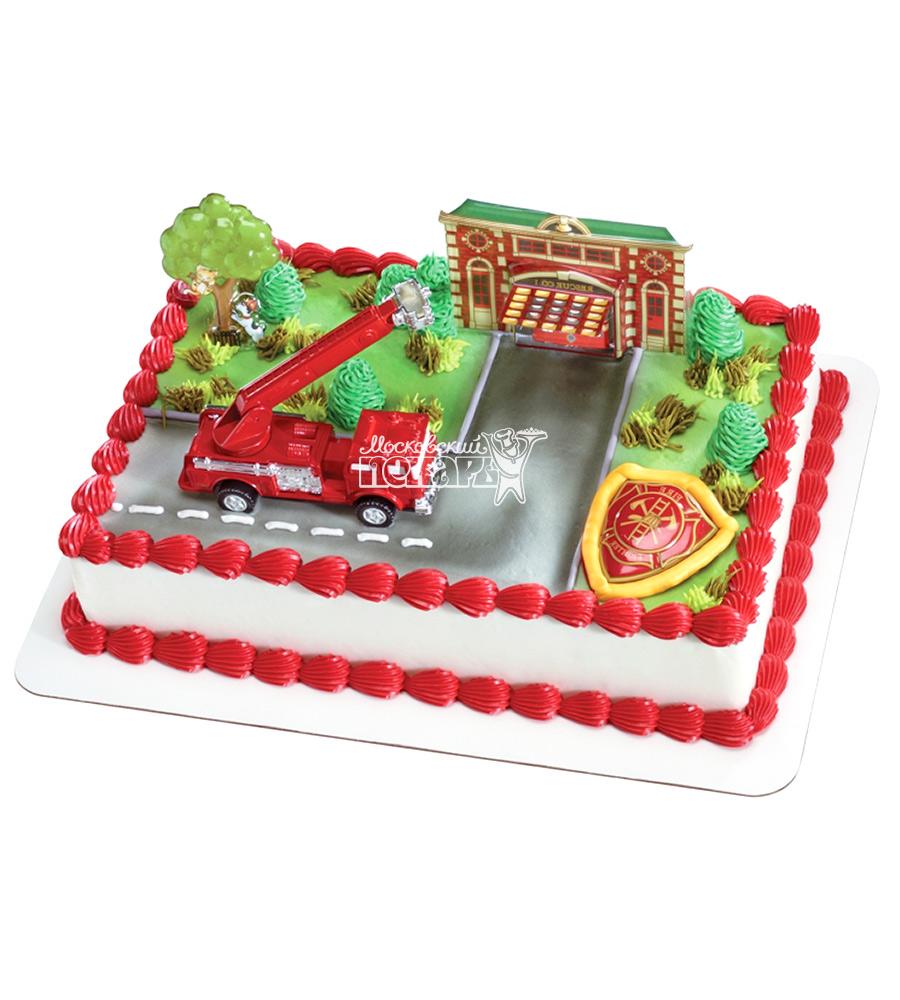 №2304 Торт пожарному