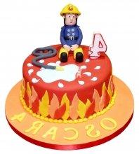 №2306 Торт пожарному