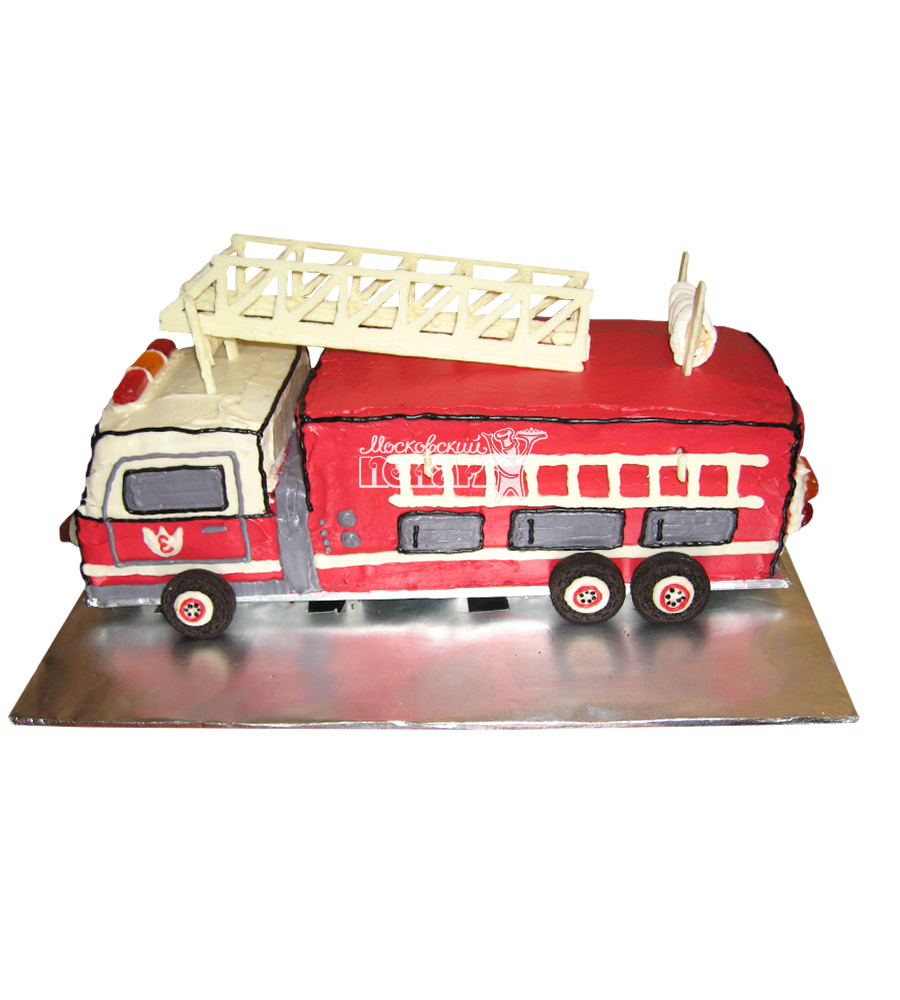 №2307 3D Торт пожарному
