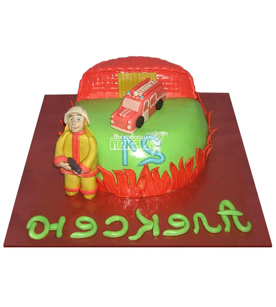 №2309 Торт пожарному
