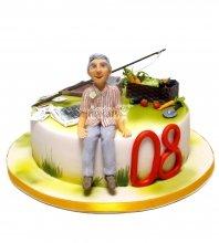 №2317 Торт дедушке
