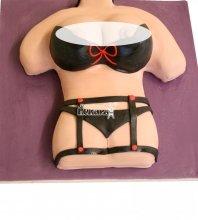 №2328 3D Торт на мальчишник