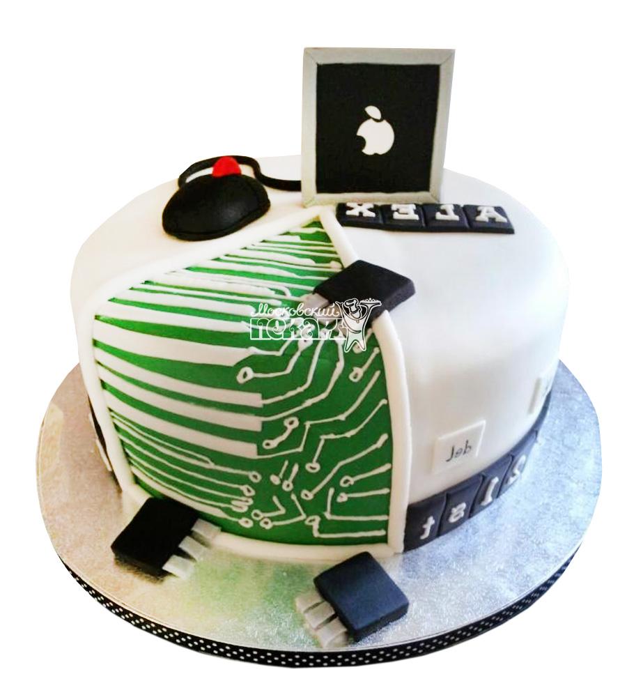 №2345 Торт ноутбук