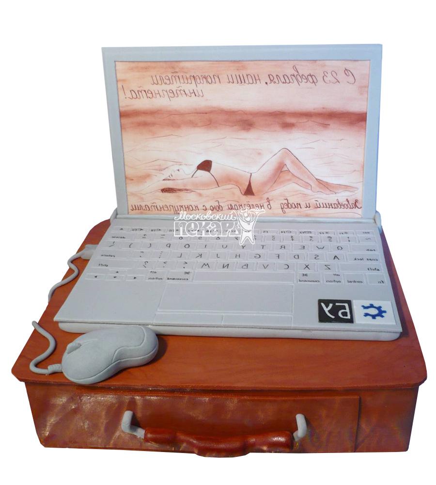 №2348 Торт ноутбук