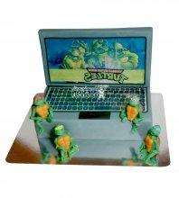 №2349 Торт ноутбук