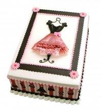 №2355 Торт платье
