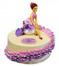 №2356 Торт платье