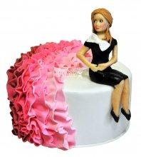 №2357 Торт платье