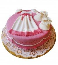 №2360 Торт платье