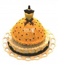 №2363 Торт платье