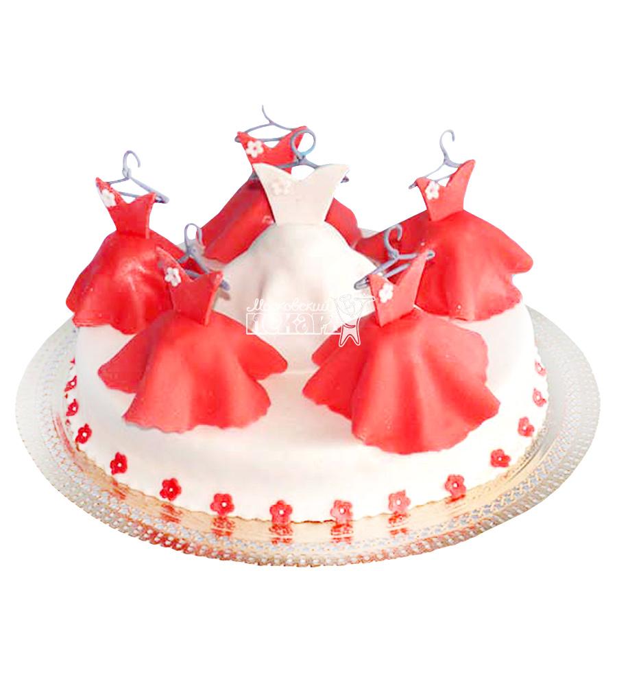 №2364 Торт платье