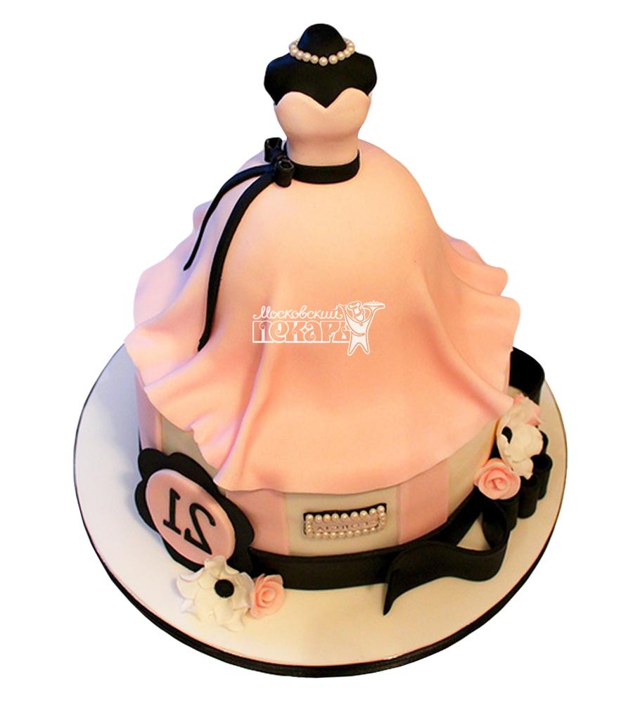 №2365 Торт платье