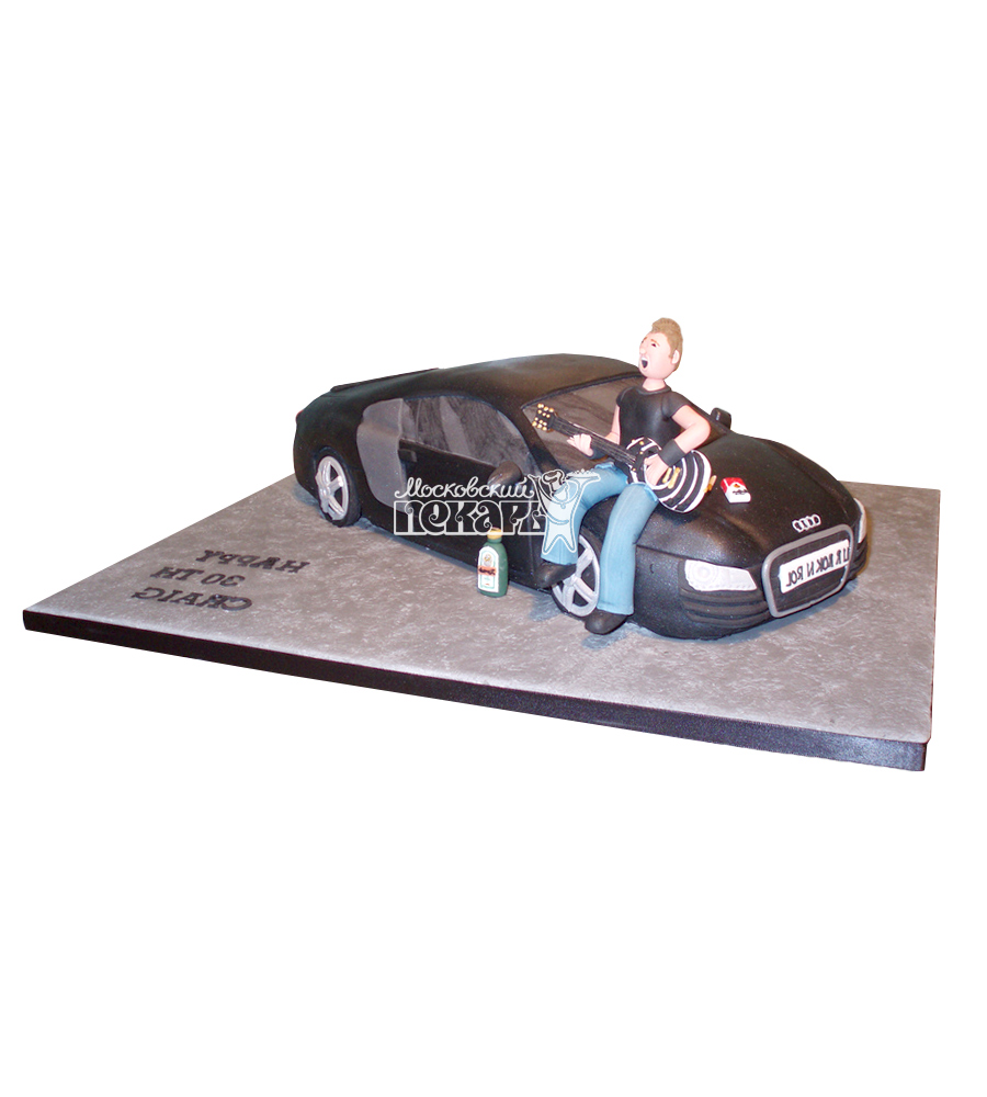 №2368 3D Торт Ауди R8