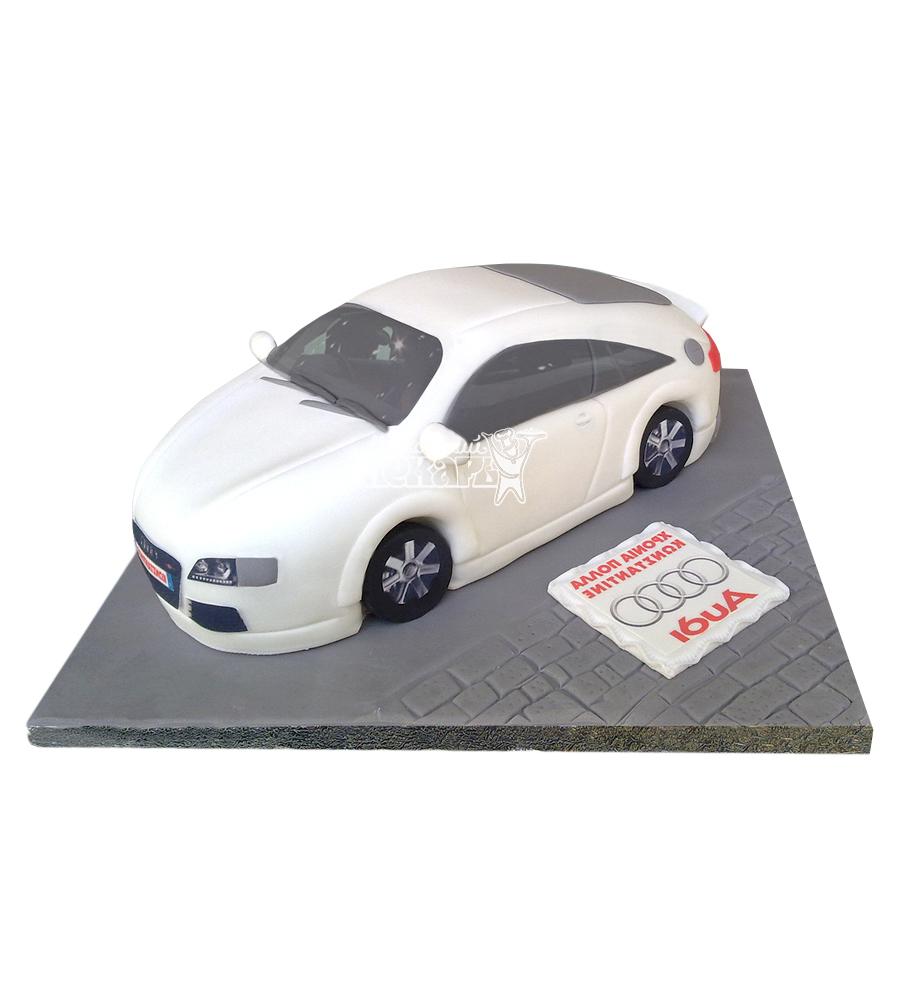 №2372 3D Торт Ауди