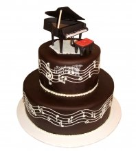 №2381 Торт пианино