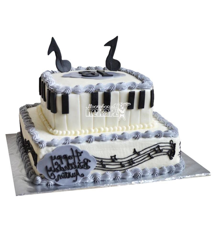 №2382 Торт пианино