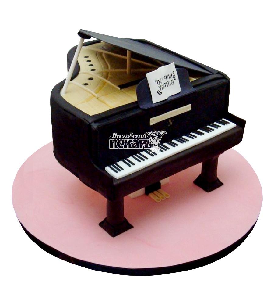 №2384 3D Торт пианино