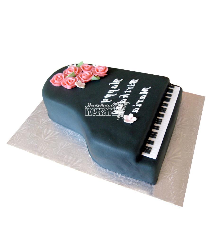 №2385 Торт пианино