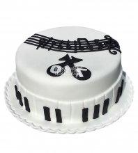 №2387 Торт пианино
