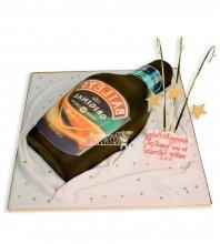 №2389 3D Торт бутылка Baileys
