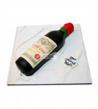 №2391 3D Торт бутылка вина