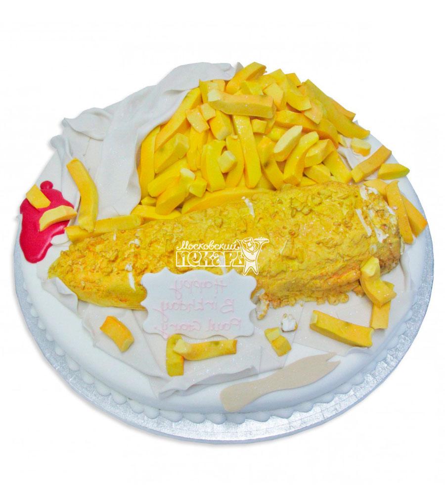 №2395 Торт картофель фри