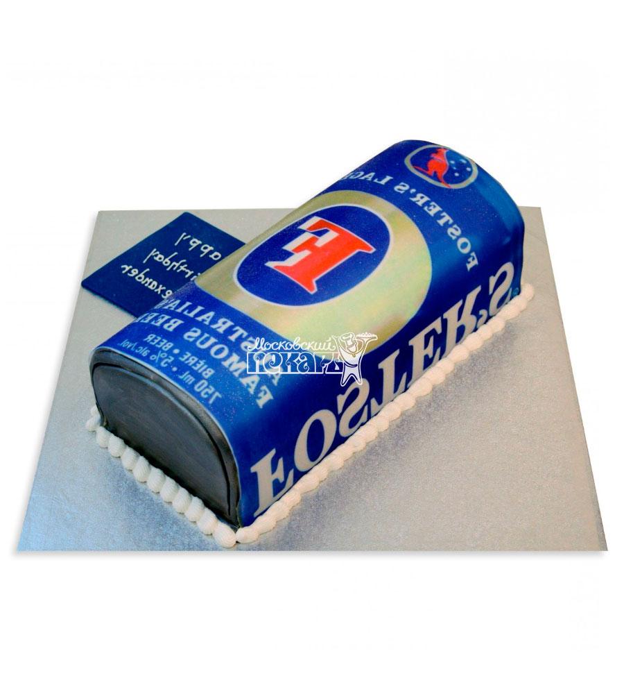 №2396 3D Торт пиво