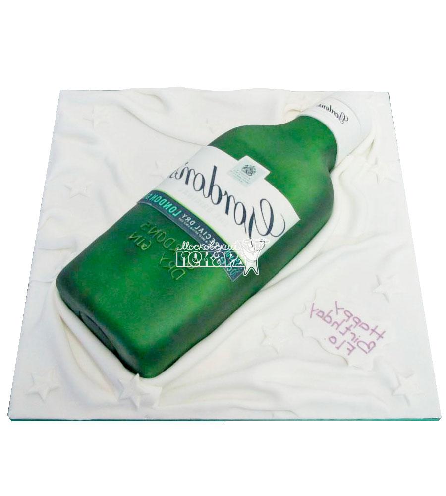 №2397 3D Торт бутылка
