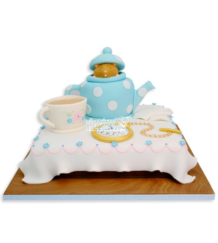№2399 Торт чайник и чашки