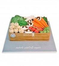 №2404 Торт овощи