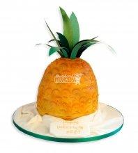 №2405 3D Торт ананас