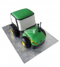 №2440 3D Торт трактор