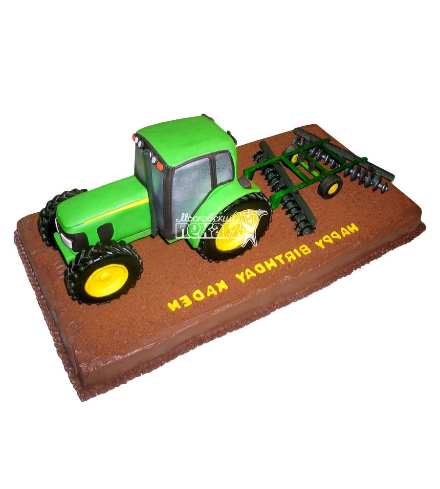 №2442 Торт трактор