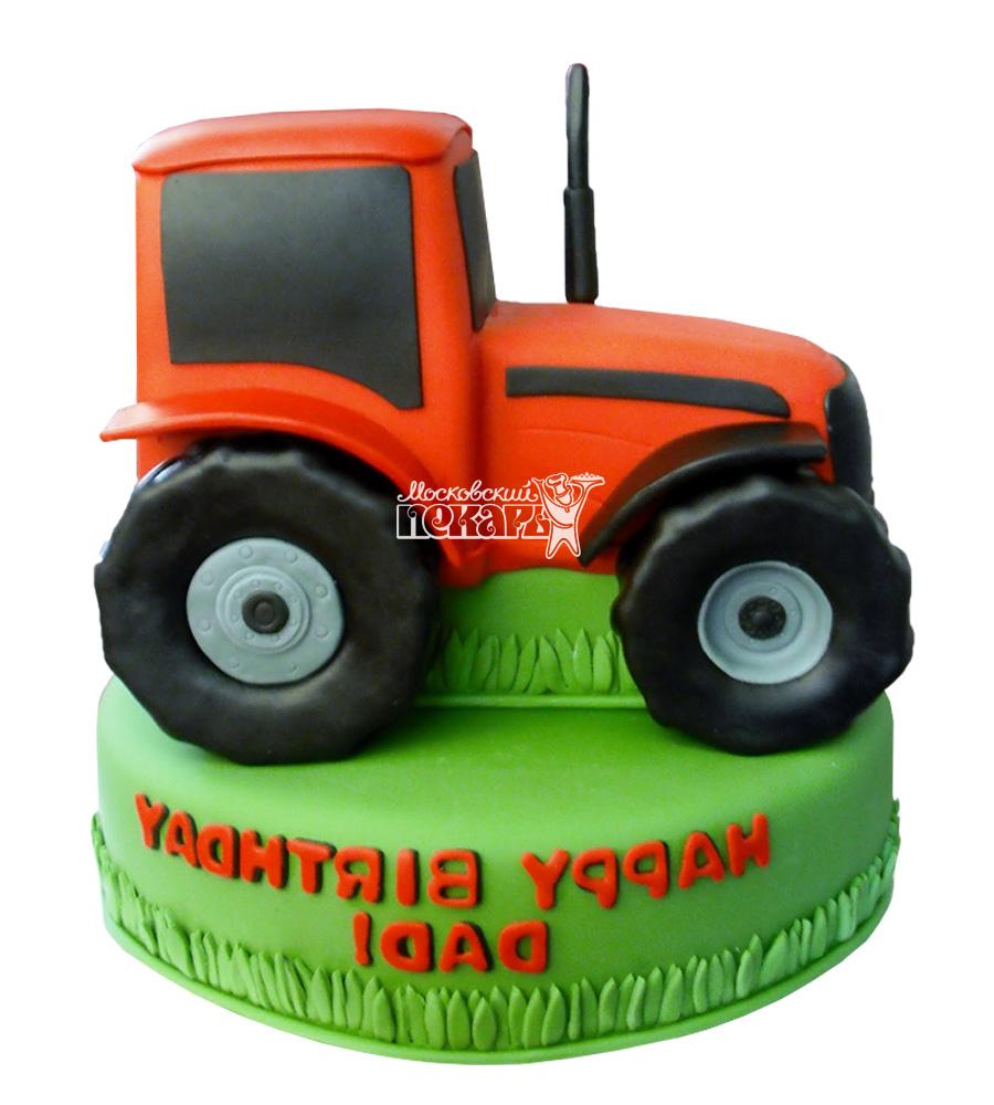 №2444 Торт трактор