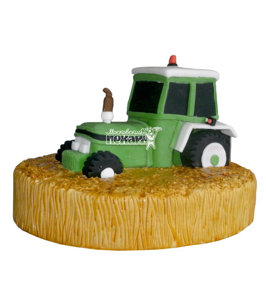 №2446 Торт трактор