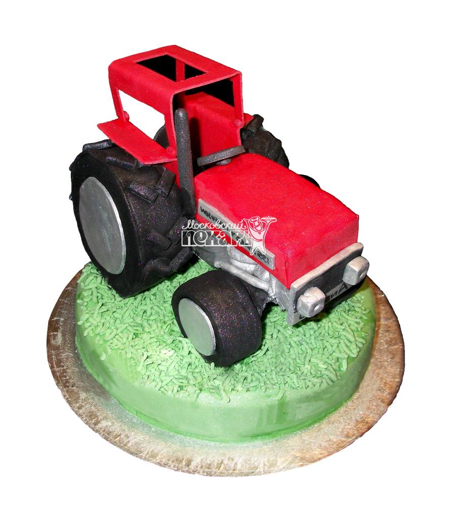 №2447 Торт трактор