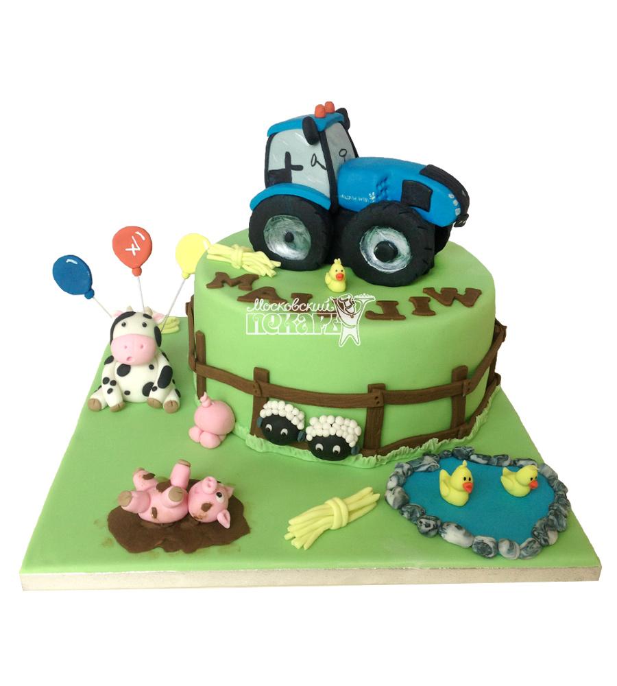 №2448 Торт трактор