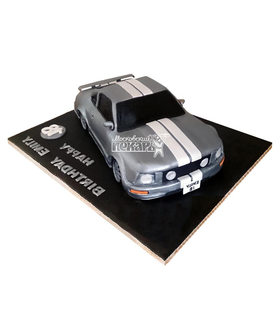 №2455 3D Торт Форд Мустанг