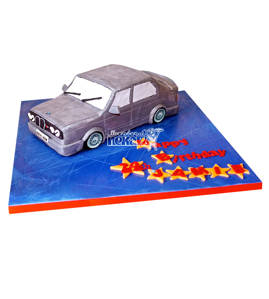 №2464 3D Торт БМВ