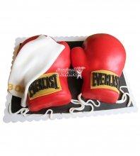 №2467 3D Торт боксеру