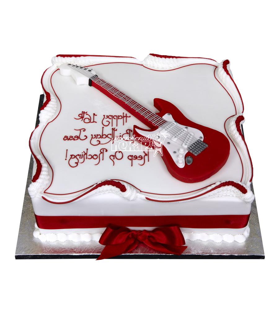 №2484 Торт гитара