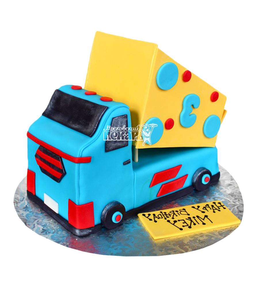 №2487 Торт грузовик